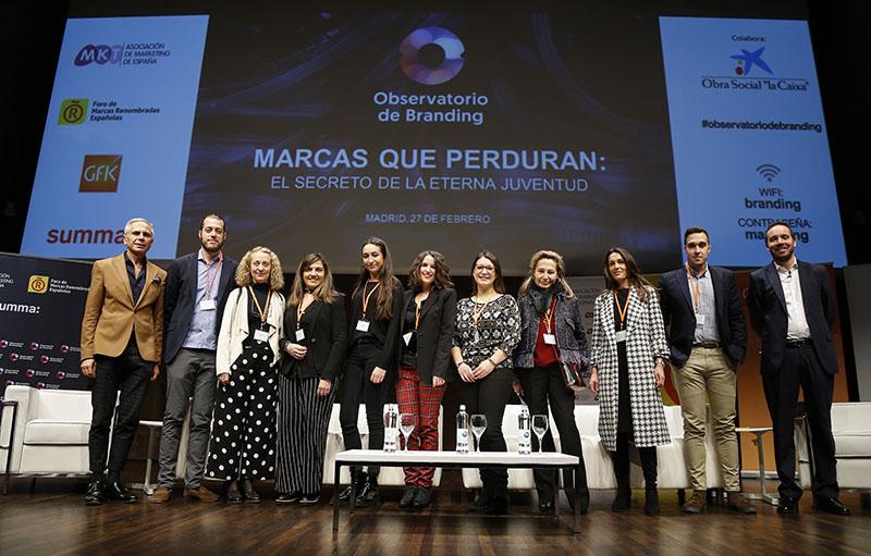 Organizadores del Observatorio de Branding 2019.