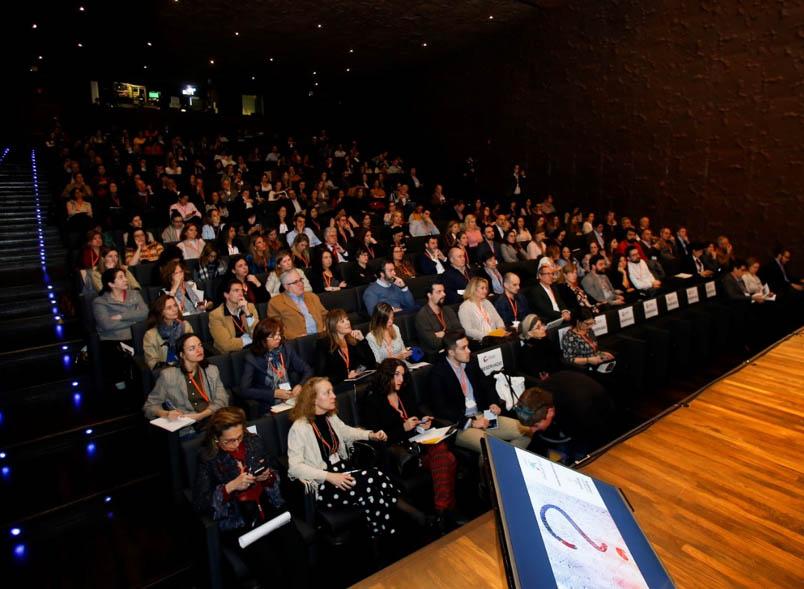 Auditorio de CaixaForum en la 8ª edición del Observatorio de Branding